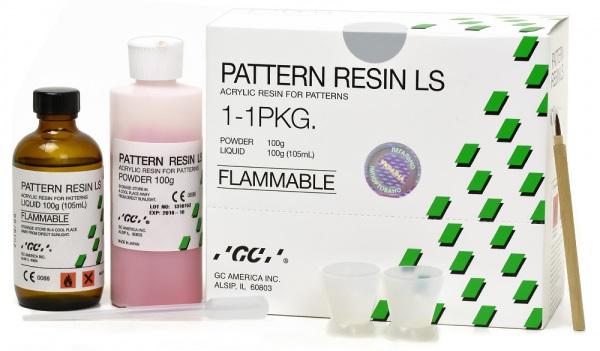 Беззольная моделирующая пластмасса GC Pattern Resin LS