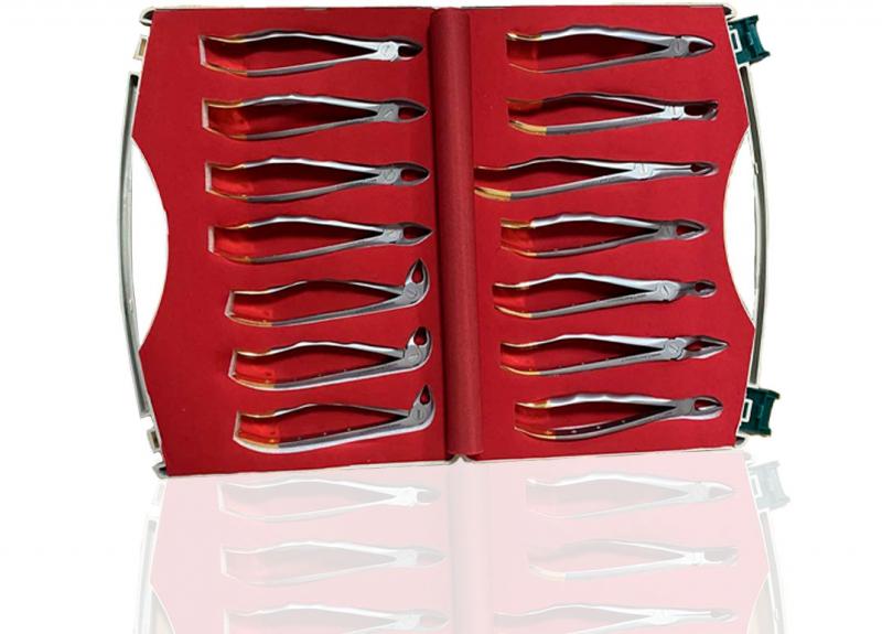 Набор щипцов Dental Product 14 шт (для удаления зубов)