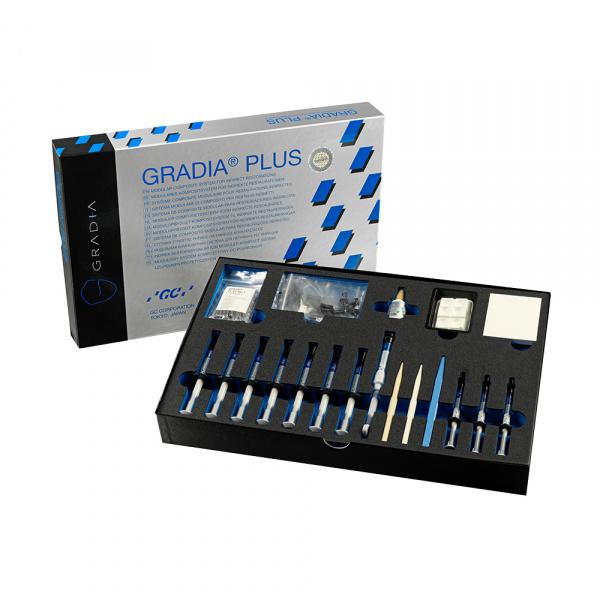 Композит для имплантов GC Gradia Plus Gum Shades Set (10 шприцов)