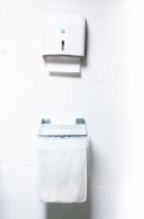 Держатель для сбора мусора (настенный) Медклин (белый)