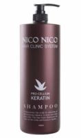 Шампунь для волос с кератином NICO NICO Keratin Shampoo (1500 мл) (8809631820153)