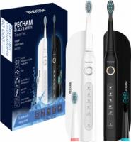Набор электрических зубных щеток PECHAM Black and White Travel Set (0009119080224)