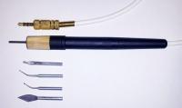 Ручка для электрошпателя Dokatech (нагрематель 2мм + 4 насадки)