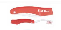 Дорожная зубная щетка - FoxyDent Total средней жесткости