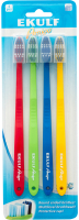 Зубная щетка EKULF Amigo (4 шт.) (2512)
