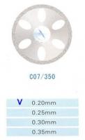 Диск алмазный двухсторонний Kangda C07 (35 мм)