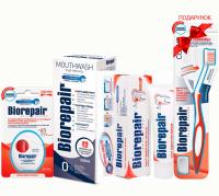 Набор Biorepair Избавление от чувствительности + зубная щетка