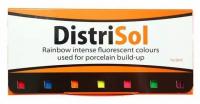 Флуоресцентный краситель для керамики Distrident Plus Distrisol (7x15 мл)