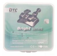 Брекеты DTC Roth mini Bright 0,18 с крючками B21-24 (20 шт верх + низ)