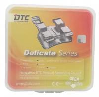 Брекеты DTC Roth Delicate 0,18 с крючками D21-44 (20 шт верх + низ)