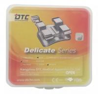 Брекеты DTC Roth Delicate 0,22 с крючками D22-44 (20 шт верх + низ)