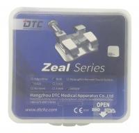 Брекеты DTC Roth Zeal 0,22 с крючками Z22-24 (20 шт верх + низ)