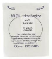Дуга Niti DTC реверсионная N341-12L (0,012 нижняя челюсть, 2 шт)