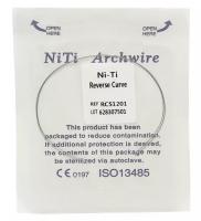 Дуга Niti DTC реверсионная N341-16U (0,016 верхняя челюсть, 2 шт)