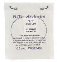 Дуга Niti DTC реверсионная N341-16L (0,016 нижняя челюсть, 2 шт)