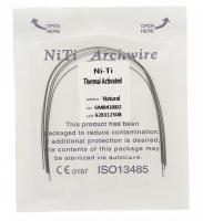 Дуга Niti DTC термоактивируемая овальная N221-18U (0,018 верхняя челюсть, 5 шт)