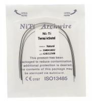 Дуга Niti DTC термоактивируемая овальная N221-18L (0,018 нижняя челюсть, 5 шт)