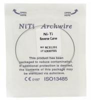 Дуга Niti DTC реверсионная N341-1822U (0,018 x 0,022 верхняя челюсть, 2 шт)