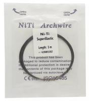 Проволока лигатурная DTC Niti A502-16 (0,41 мм x 5 м)