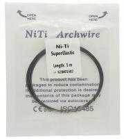 Проволока лигатурная DTC Niti A502-18 (0,46 мм x 5 м)