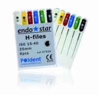 H-файлы Poldent Endostar H-Files (21 мм)