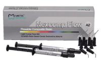 Светоотверждаемый наногибридный композит Meta Biomed Nexcomp Flow