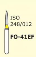 Бор пламеобразный, стрельчатый кончик для препарирования Mani FO-41EF серия Extra Fine 3 шт