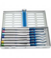 Люксатор набор UNICORN Medical Instruments PDL Luxators kit (набор 7 предметов)
