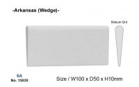 Камень точильный 6A Wedge, клиновидный, арканзас (YDM)