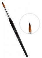 Кисть для керамики East Rich Kolinsky №10 трехгранная ручка ER2AB10