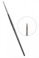 Кисть для керамики East Rich Kolinsky №1 круглая ручка ER2AC01