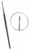 Кисть для керамики East Rich Kolinsky №5 круглая ручка ER2AC05