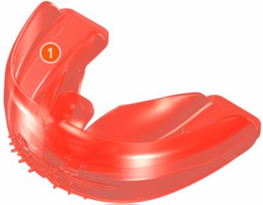 Преортодонтический трейнер T4K (жесткий, красный)