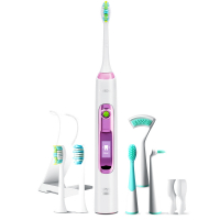 Электрическая зубная щетка Lebond V2 Ortho Pink