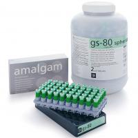Смешанный сплавАмальгама SDI GS80 1 SPILL REG (1 доза 400 мг 40 % cеpебpа)