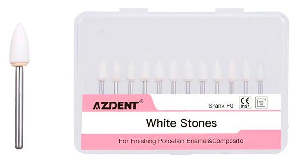 Шлифовальные головки Azdent FG (12 шт)