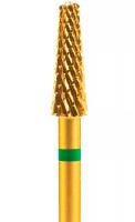 Фреза 406802 крупная, крестообразная, зеленая (для левши)