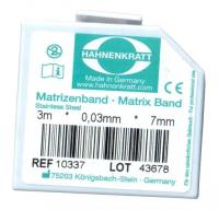 Матричная лента металлическая Hahnenkratt (0,03 х 7 мм)