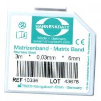 Матричная лента металлическая Hahnenkratt (0,03 х 6 мм)