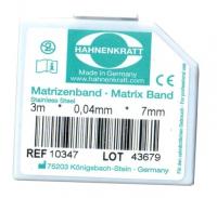 Матричная лента металлическая Hahnenkratt (0,04 х 7 мм)