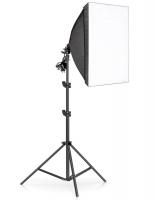Софтбокс для фотосъемки с штативом (набор 50x70 см)