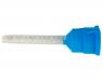 Канюли-насадки №C260 (синие с прозрачным смешивателем - короткие, 10 шт)