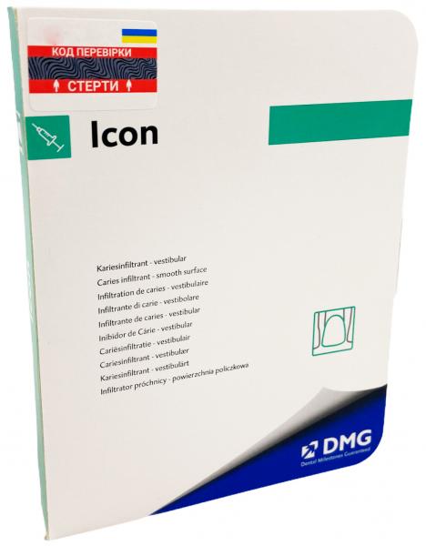 Препарат для вестибюлярных поверхностей DMG Icon Caries Infiltrant smooth surface