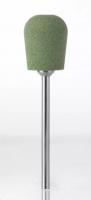 Полир технический Kenda Queen 9010 Цилиндр закругленный (зеленый, грубый, для акриловых протезов)