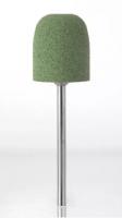 Полир технический Kenda Queen 9011 Цилиндр закругленный (зеленый, грубый, для акриловых протезов)