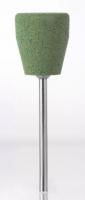Полир технический Kenda Queen 9012 Обратный конус (зеленый, грубый, для акриловых протезов)