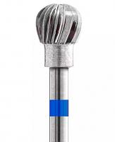 Фреза Кристалл-Фреза шар 5.0 К (крупная крестообразная синяя)