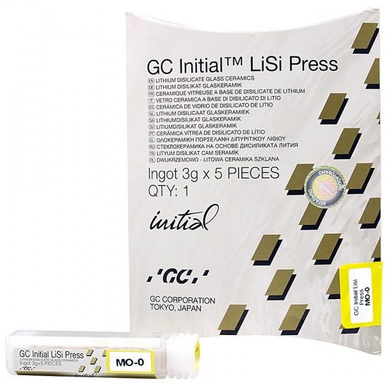 Дисиликат-литиевые таблетки для прессования GC INITIAL LiSi Press MO (средней опаковости)