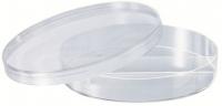 Чашка Петри 2-х секционная (d90 мм стерильная, полистирол) (20 шт/упак) (29067)