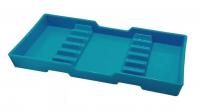 Лоток для инструментов PremiumPlus пластиковый синий 653-16A